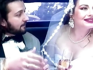 Jessica Rizzo is a bride buggered in a limousine by her driver