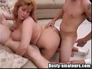 Mindy Jo on hot threesome