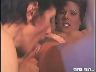 Sharon Mitchell lesbian sex with Alexandra Silk