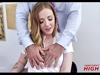 Hot Blonde High School Teen Karla Kush Anal Fuck From Teacher After Getting Out Of Trouble