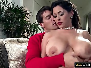 Old Style Hot Mom Getting Her Boobs Pressed